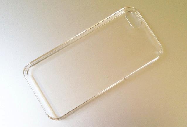 透明のiPhoneケース